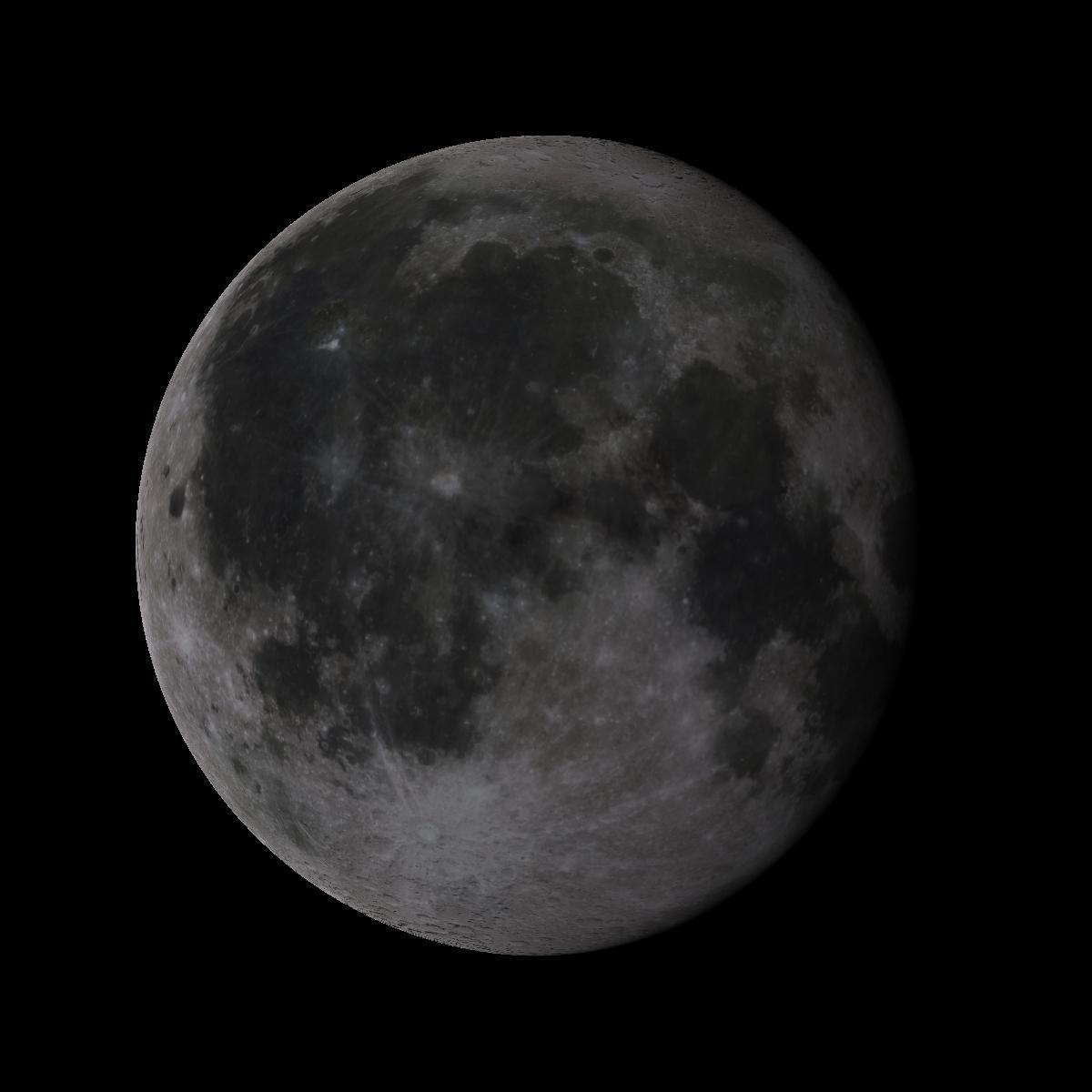 Lune du 16 octobre 2019