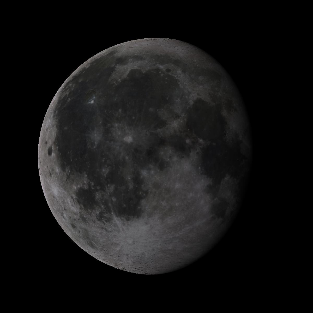 Lune du 17 octobre 2019
