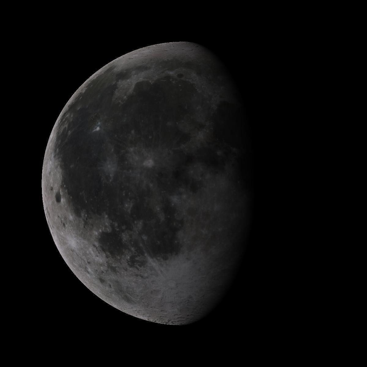 Lune du 19 octobre 2019