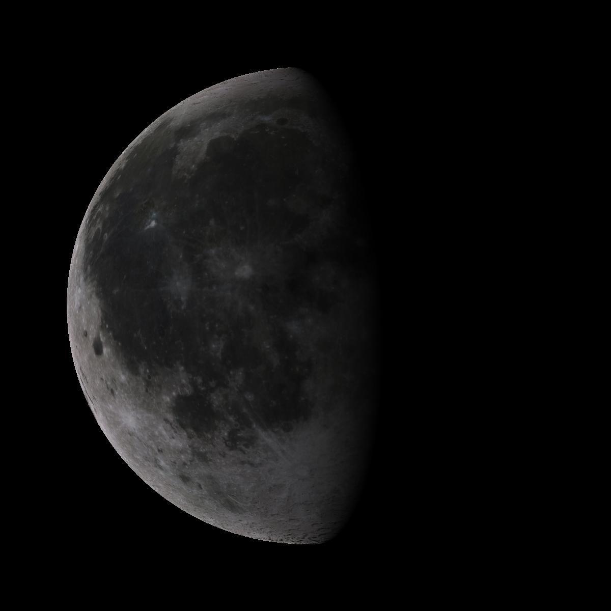 Lune du 20 octobre 2019