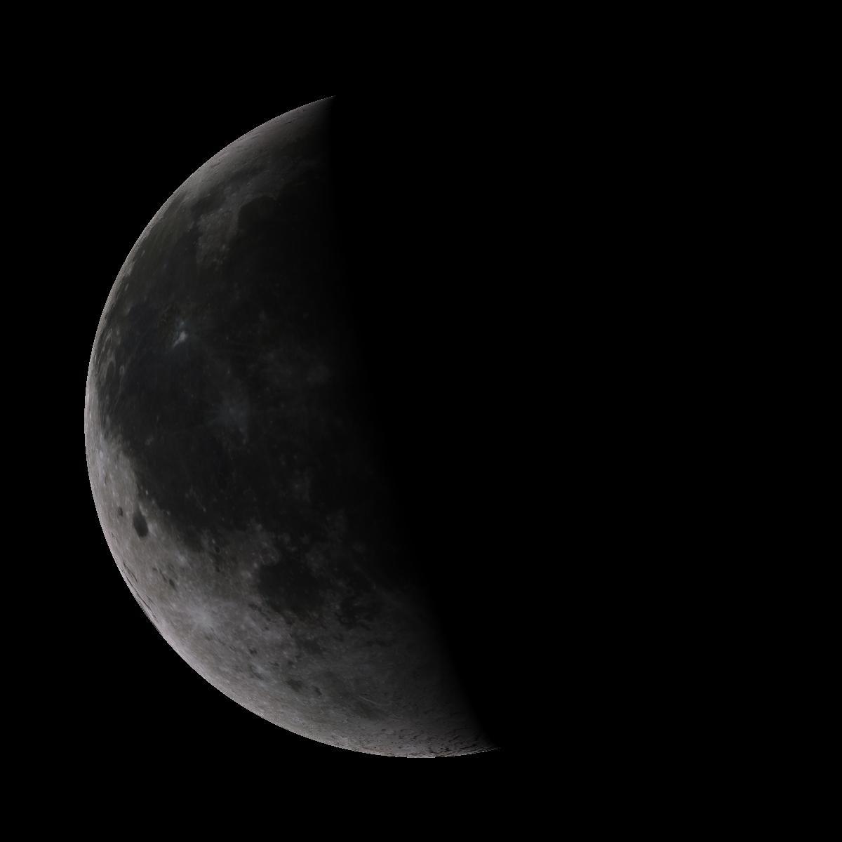 Lune du 22 octobre 2019