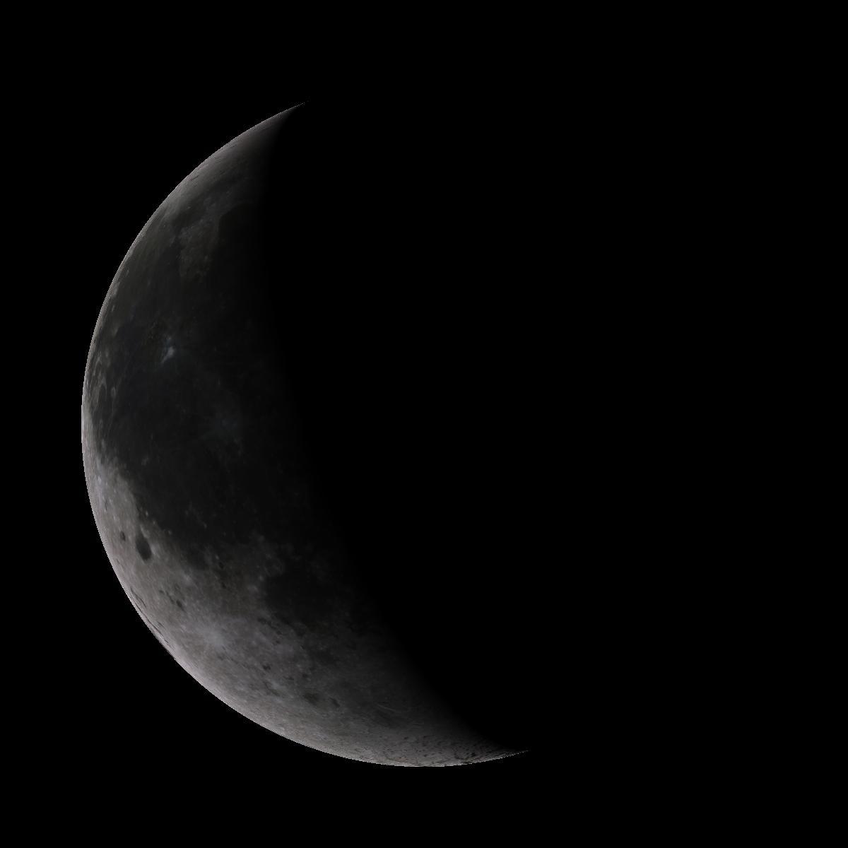 Lune du 23 octobre 2019