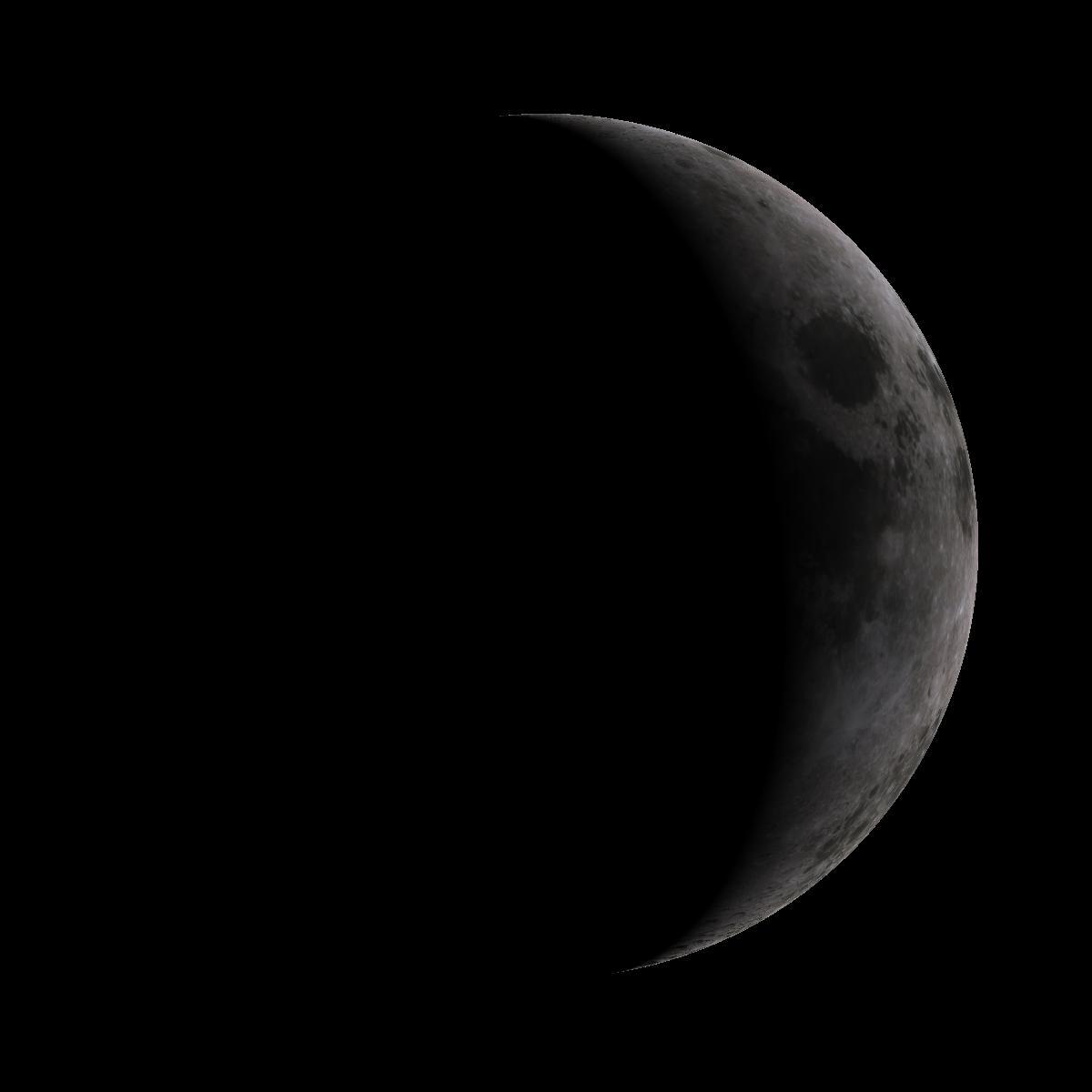 Lune du 3 octobre 2019