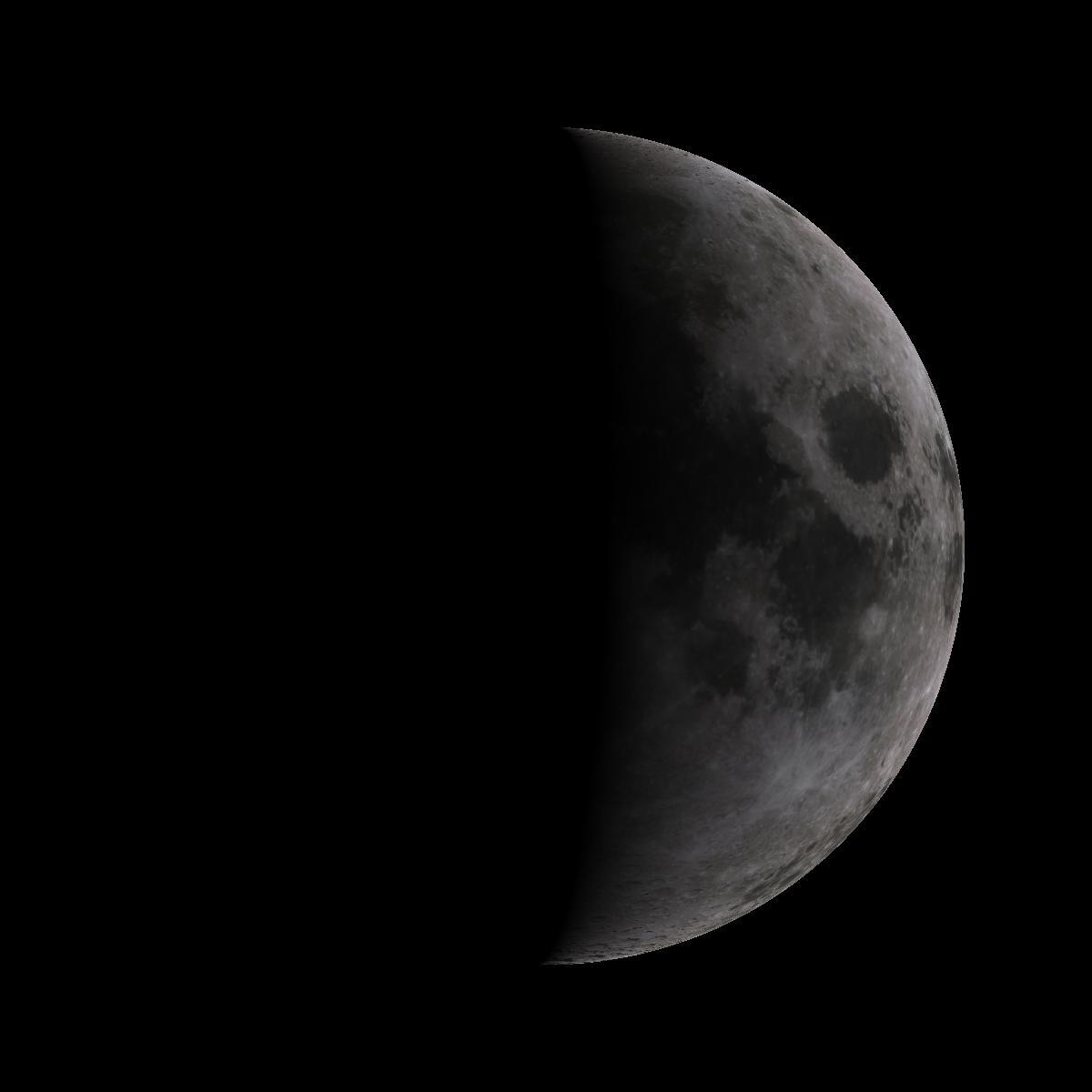 Lune du 5 octobre 2019