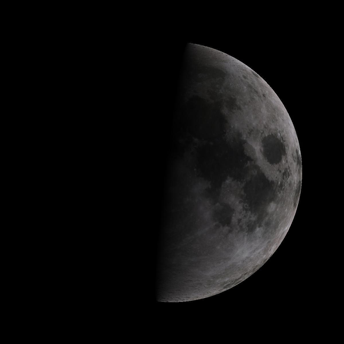 Lune du 6 octobre 2019