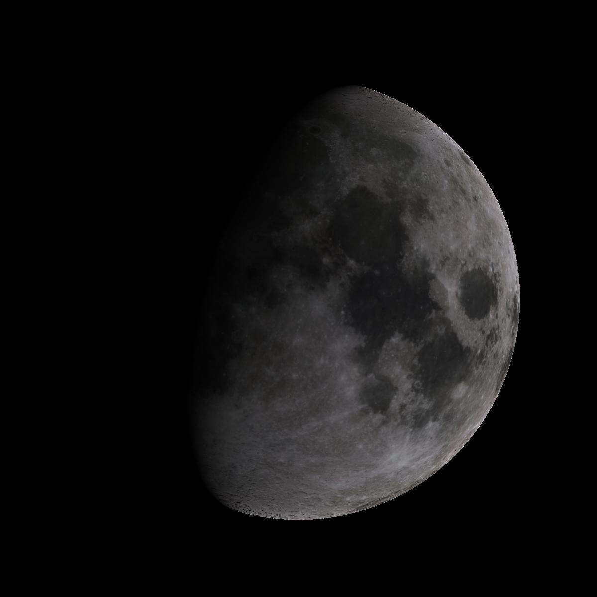 Lune du 8 octobre 2019
