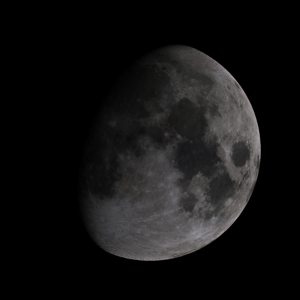 Lune du 9 octobre 2019
