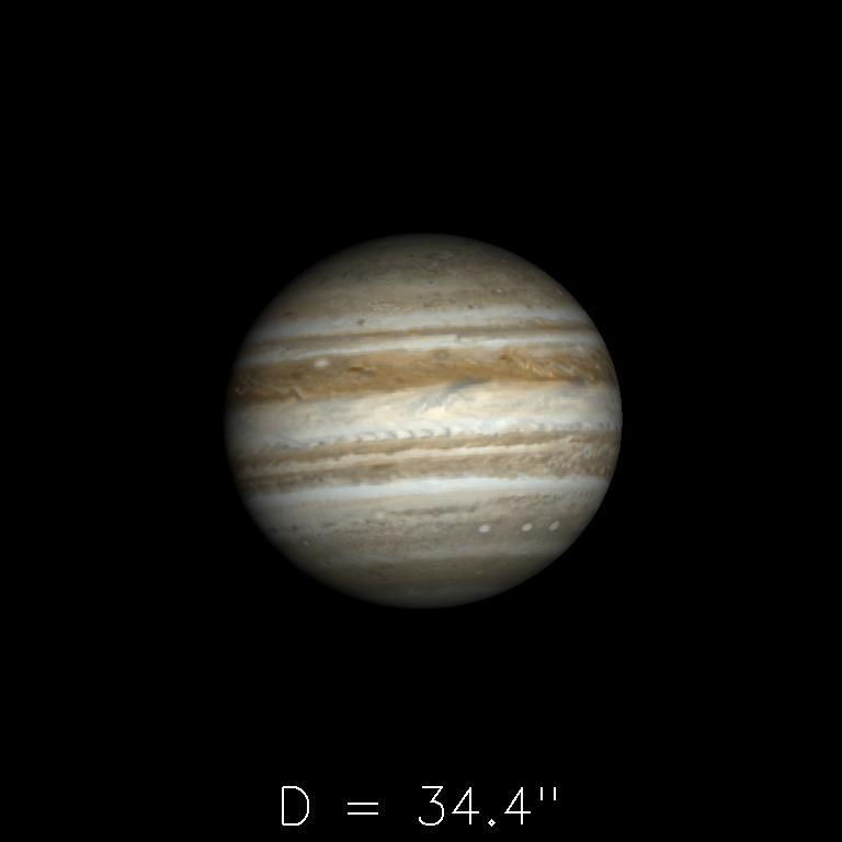 Jupiter le 16octobre 2019