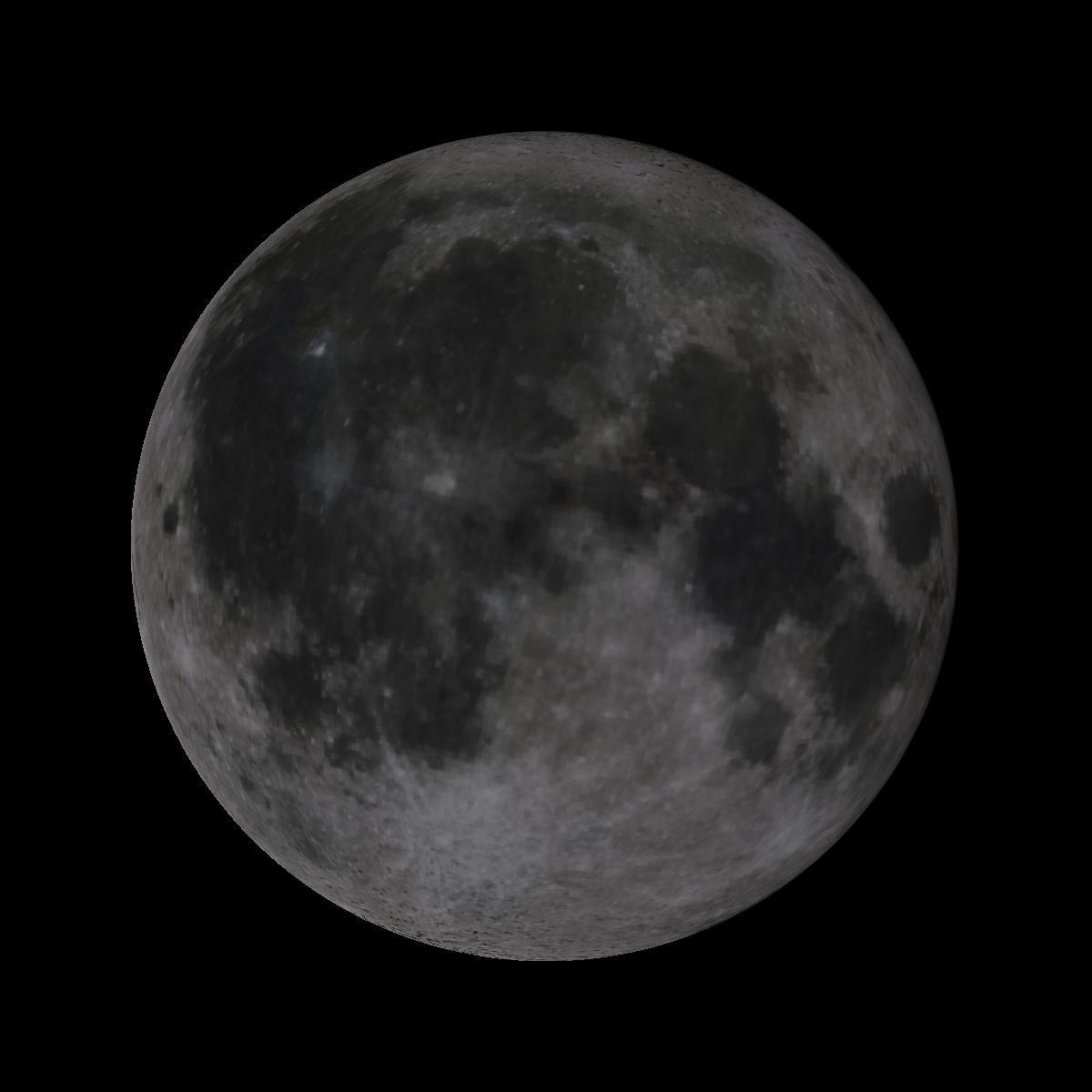 Lune du 13 novembre 2019