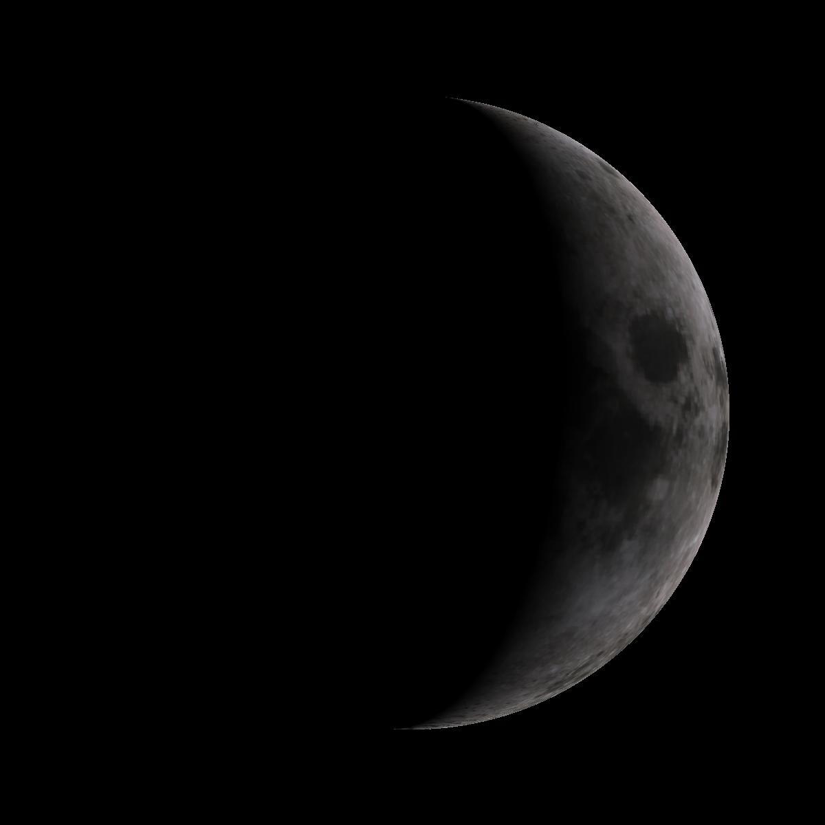 Lune du 2 novembre 2019
