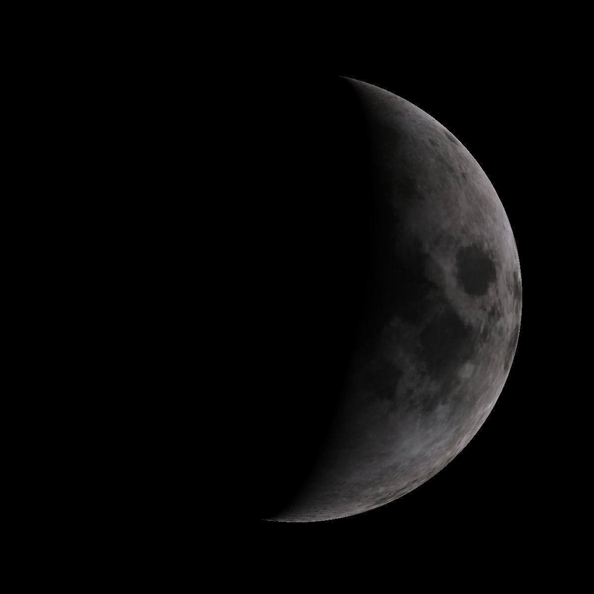 Lune du 3 novembre 2019