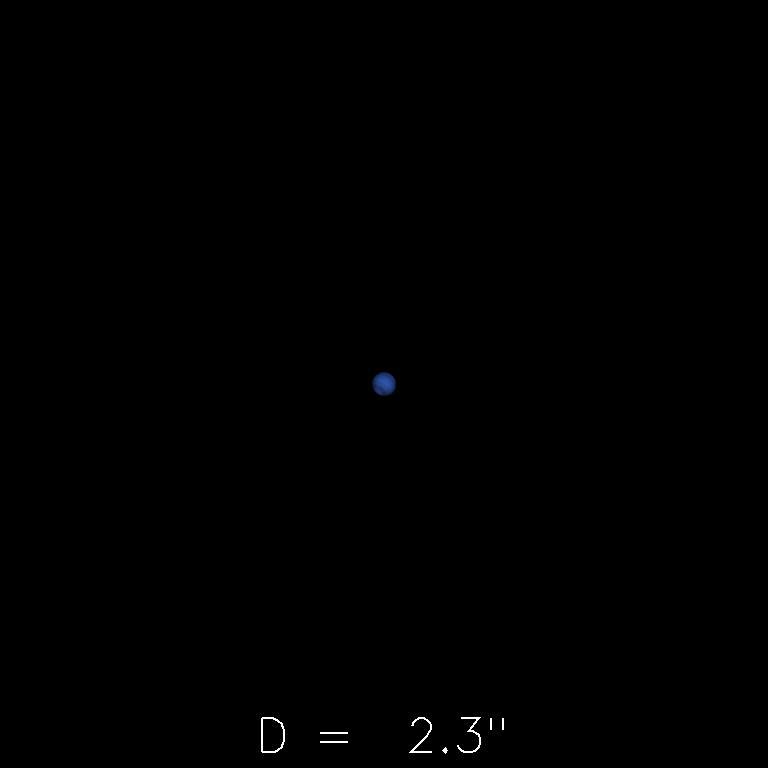 Neptune le 16 novembre 2019