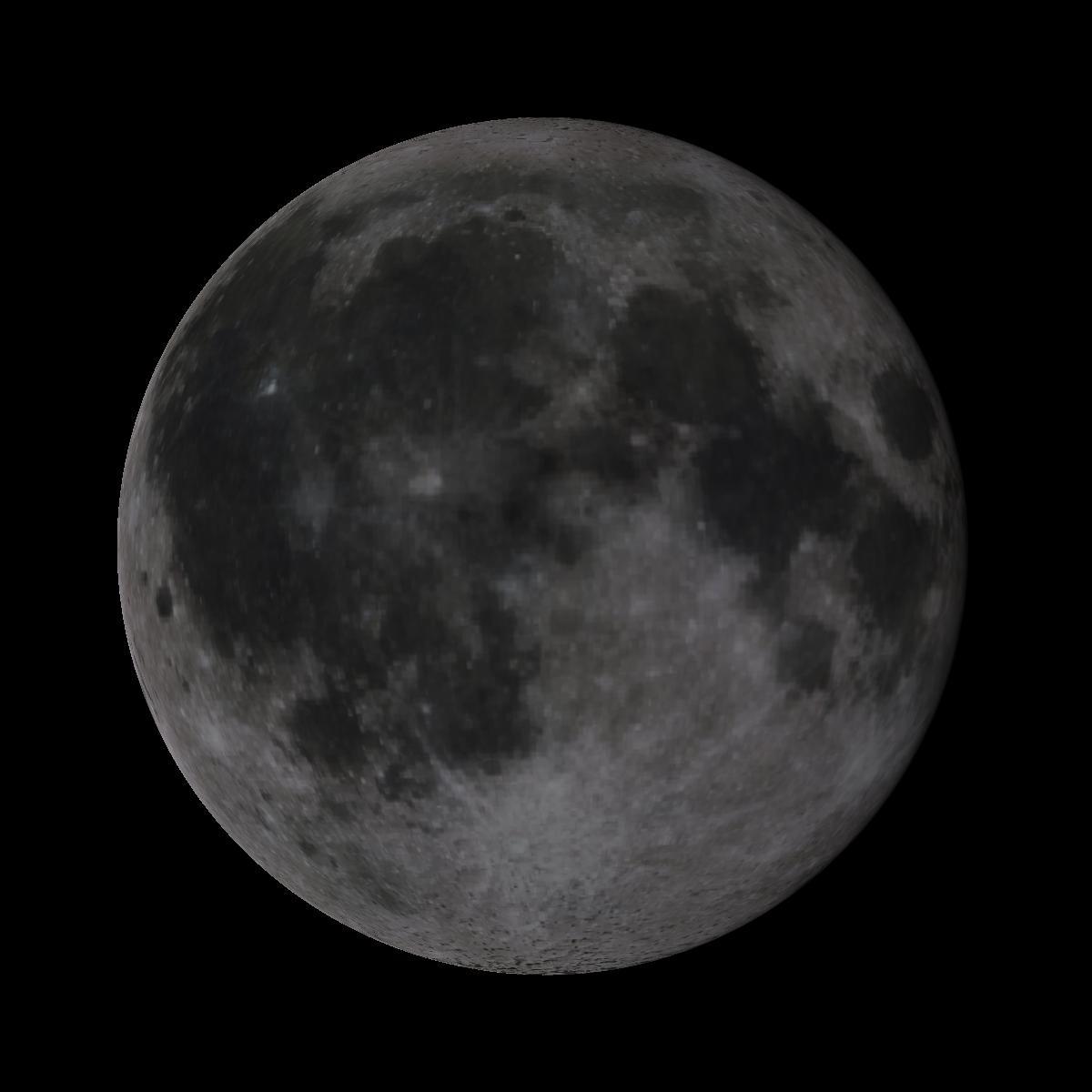 Lune du 13 décembre 2019