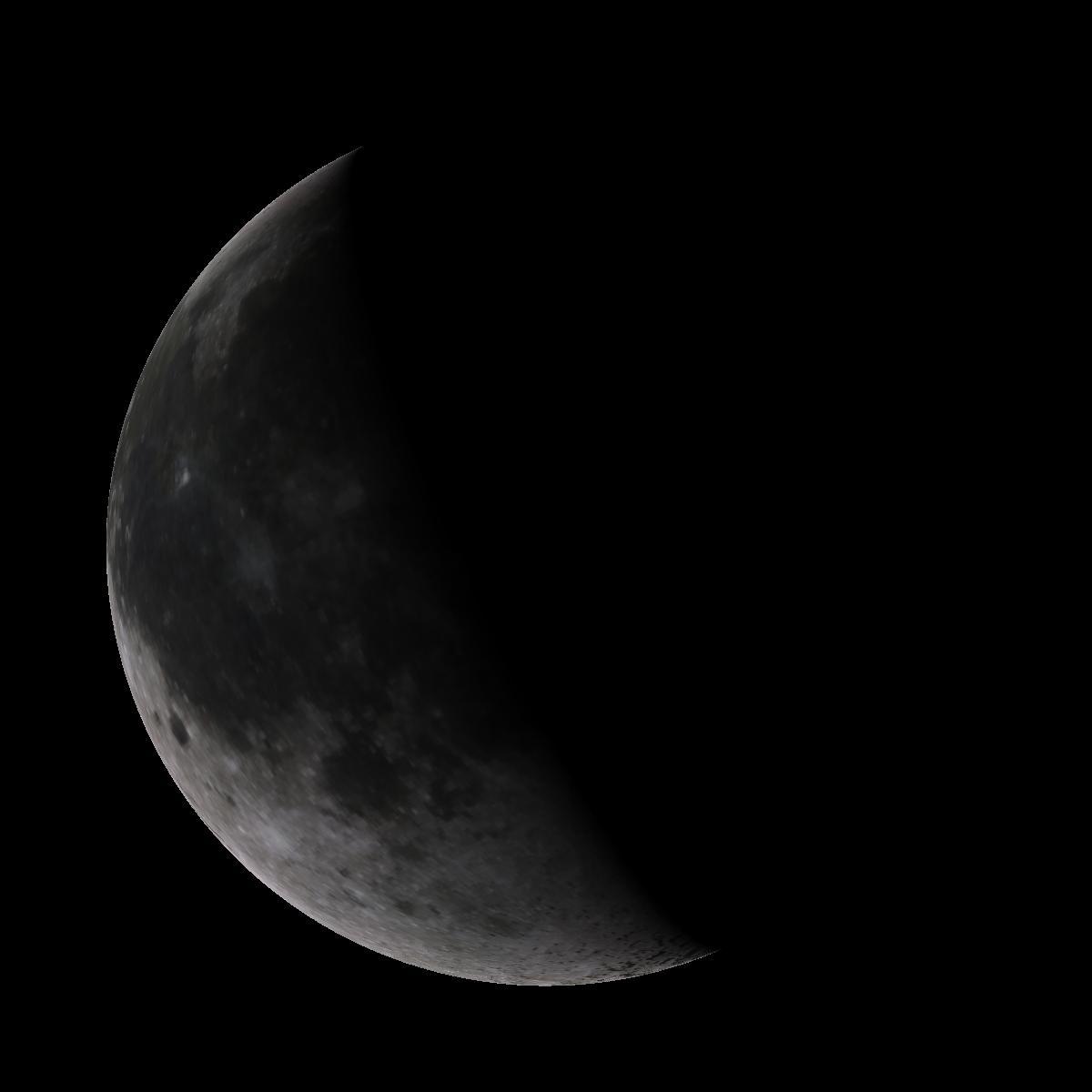 Lune du 20 décembre 2019
