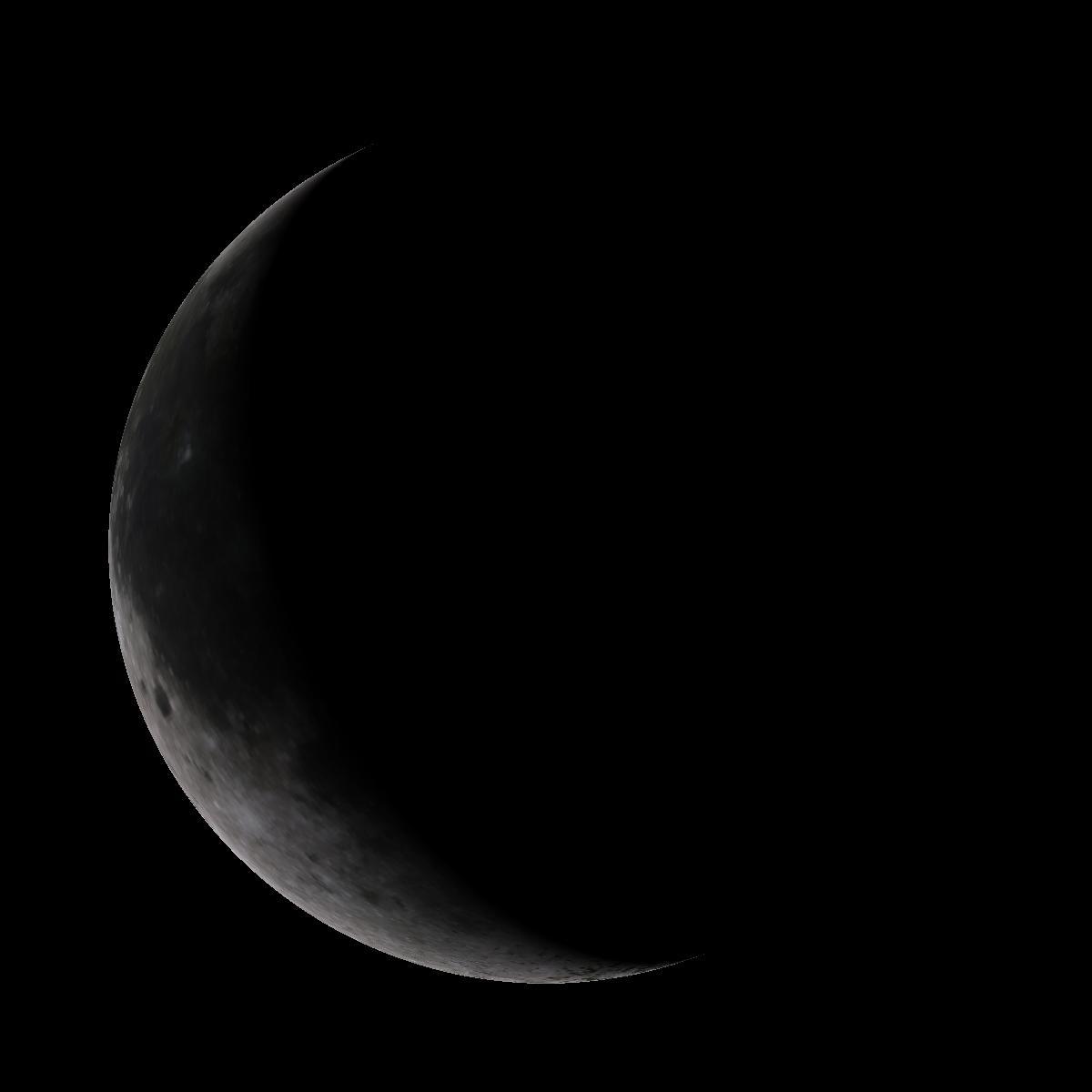 Lune du 22 décembre 2019