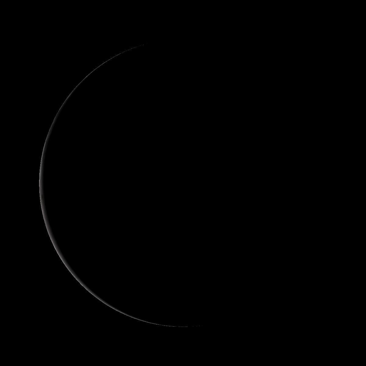 Lune du 25 décembre 2019