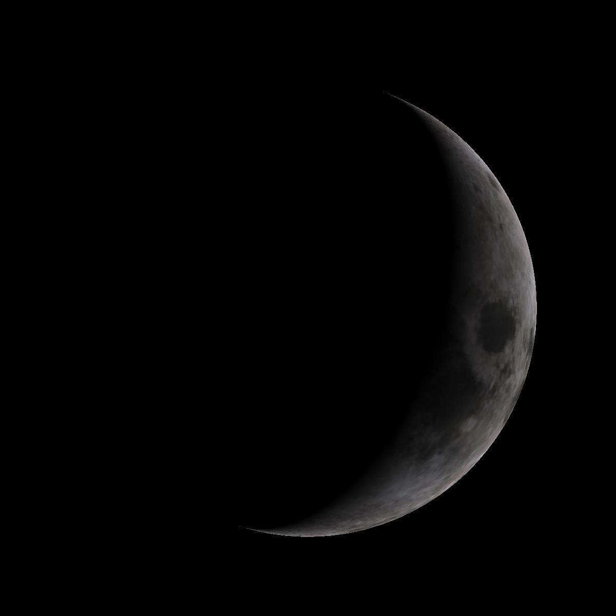 Lune du 31 décembre 2019