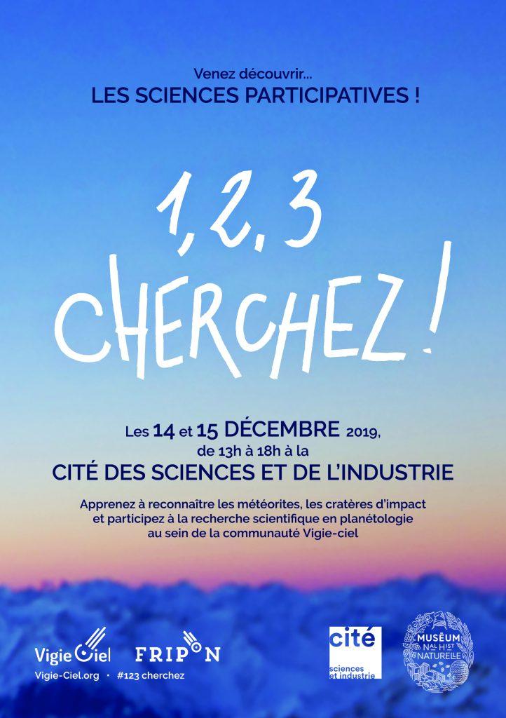 Vigie-Ciel à La Villette les 14 et 15 décembre 2019