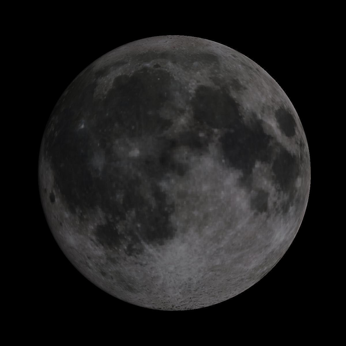 Lune du 10 janvier 2020