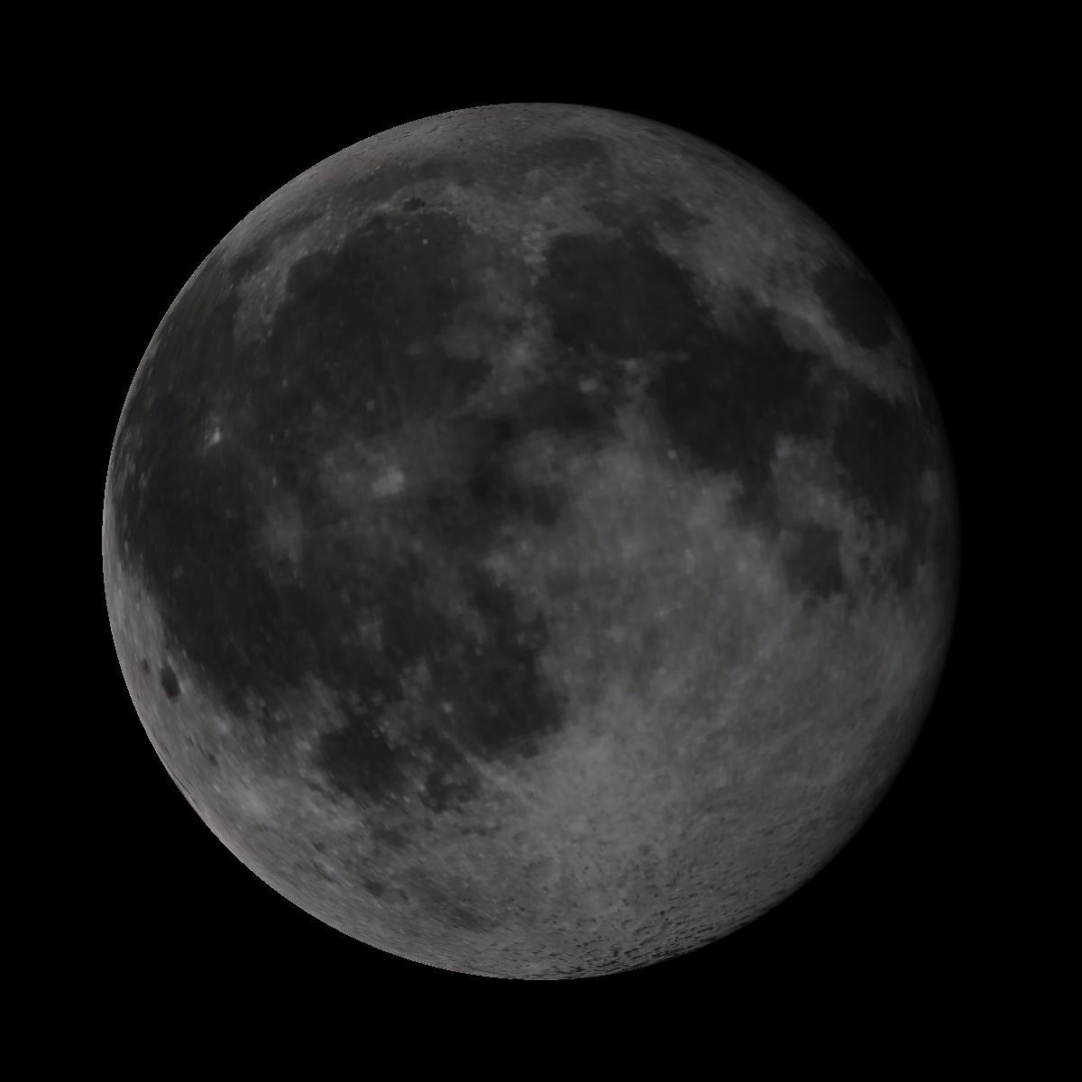Lune du 12 janvier 2020