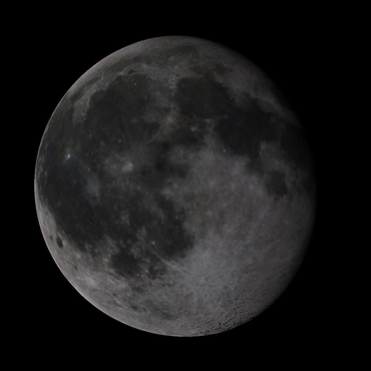 Lune du 13 janvier 2020