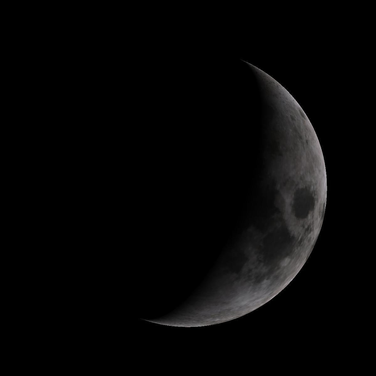 Lune du 1er janvier 2020
