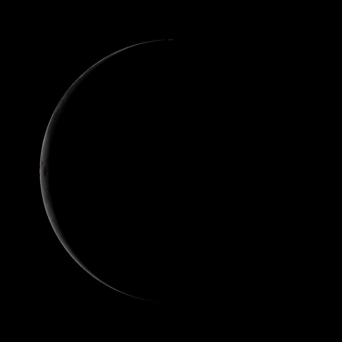 Lune du 23 janvier 2020