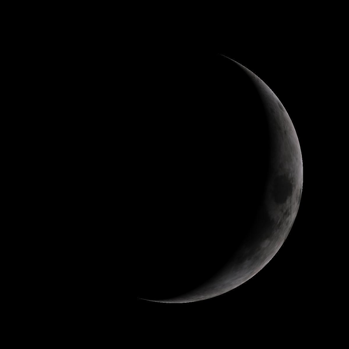 Lune du 29 janvier 2020