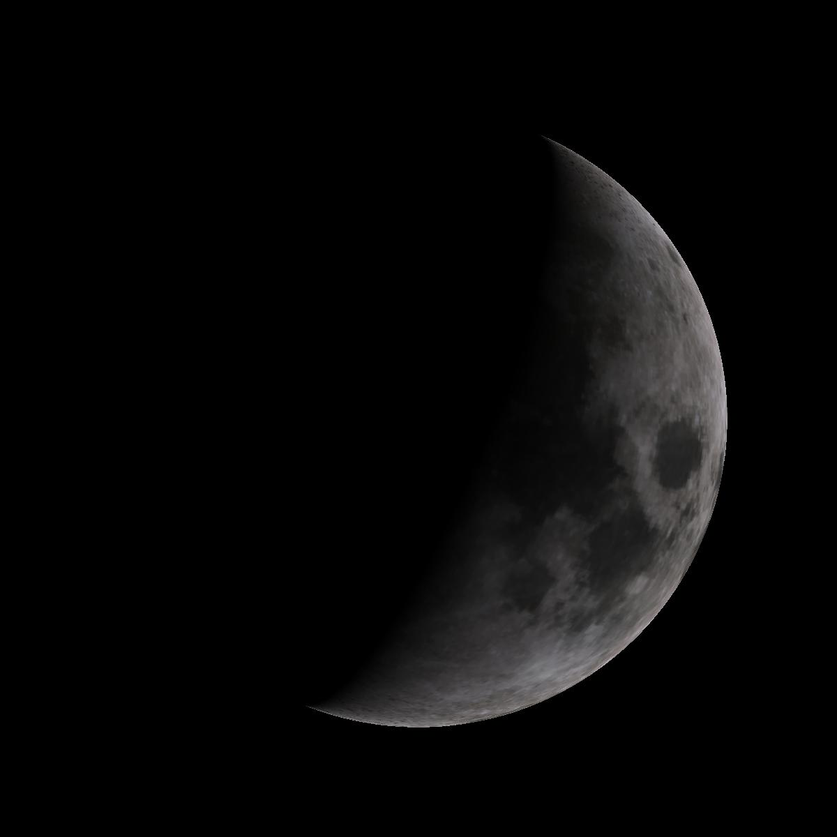 Lune du 2 janvier 2020