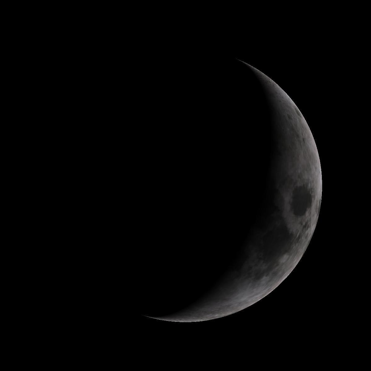 Lune du 30 janvier 2020