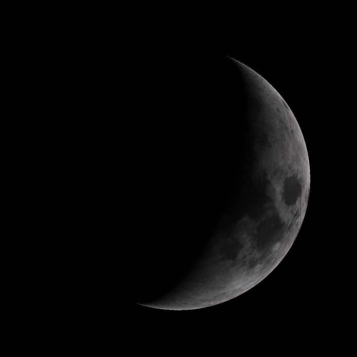 Lune du 31 janvier 2020