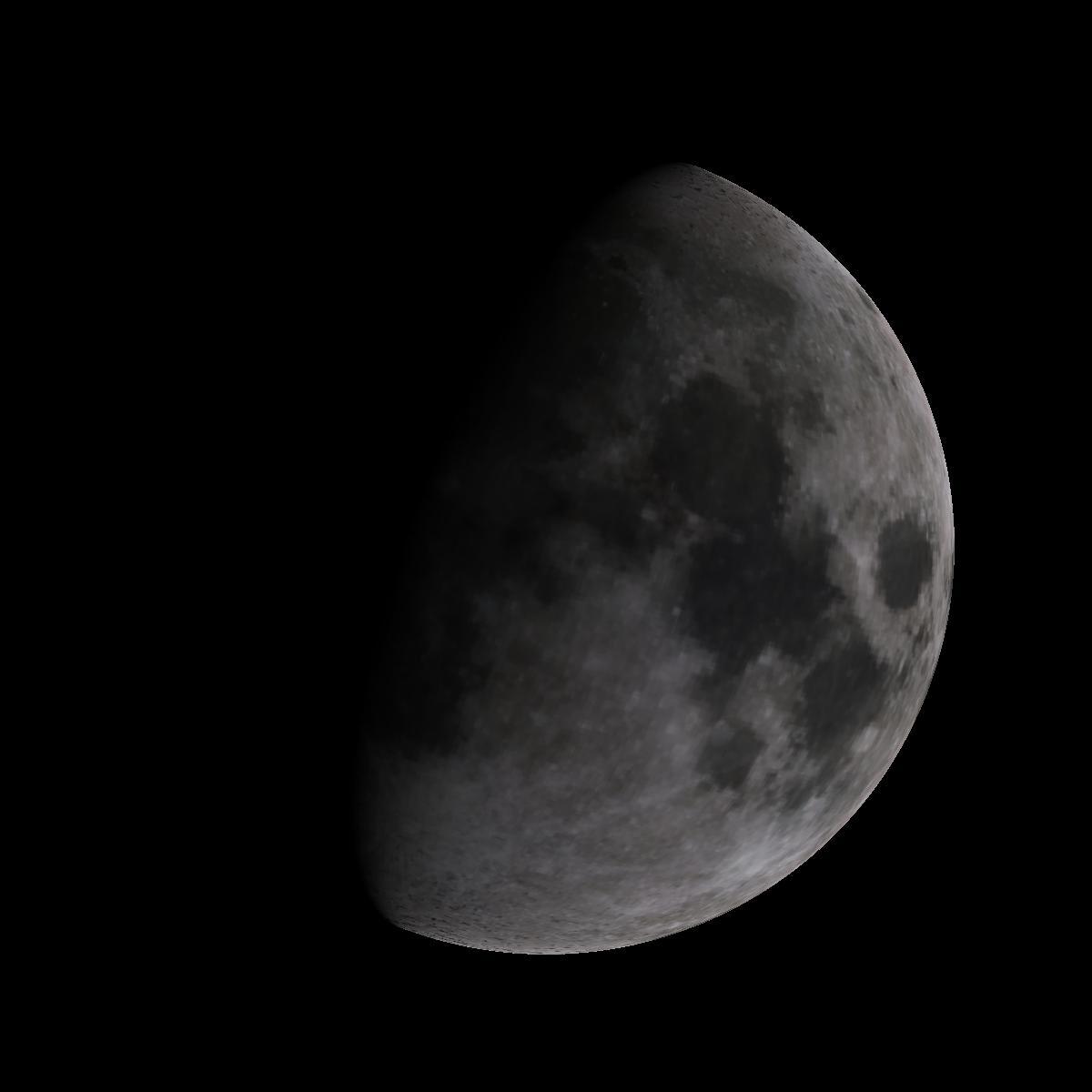 Lune du 5 janvier 2020