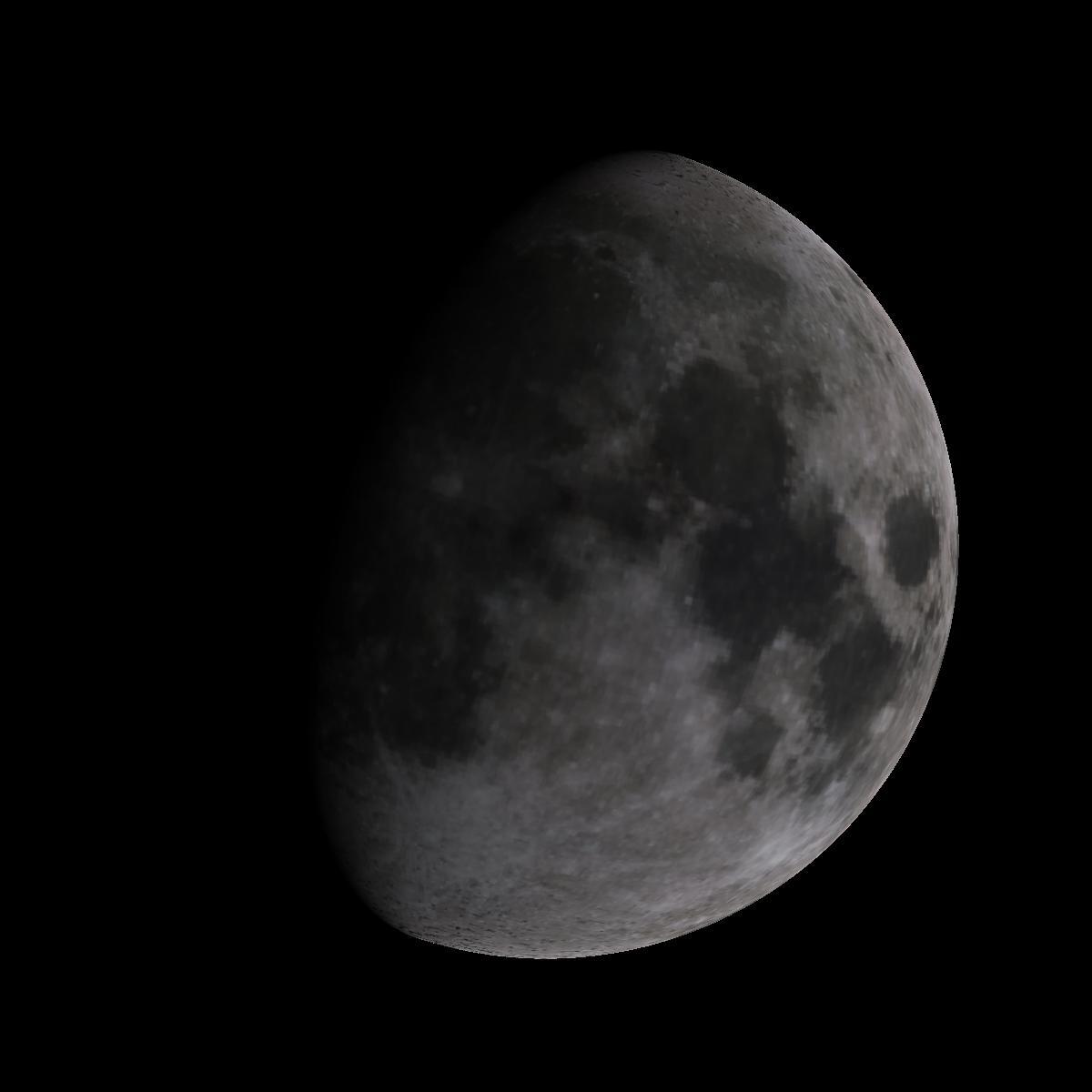 Lune du 6 janvier 2020