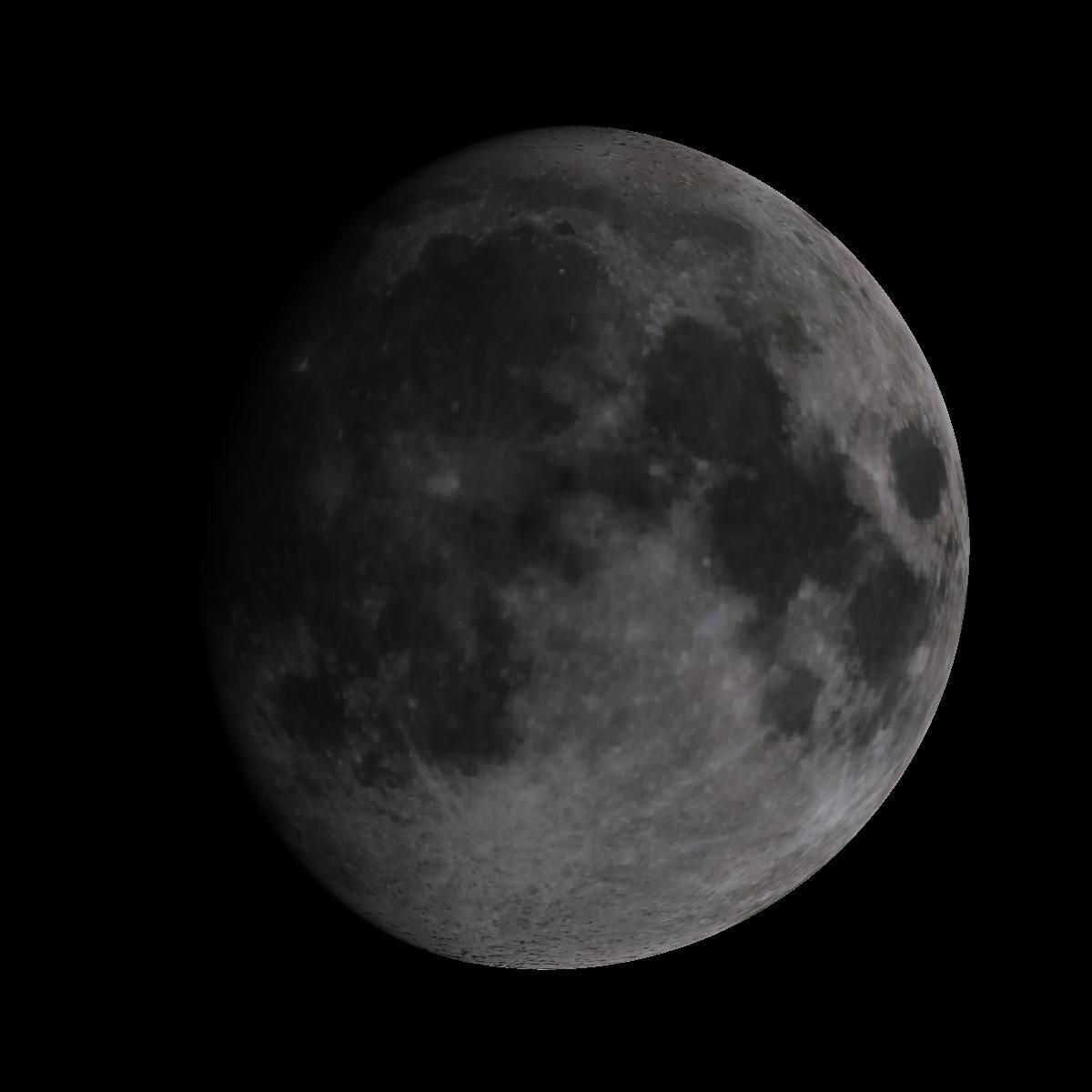Lune du 8 janvier 2020