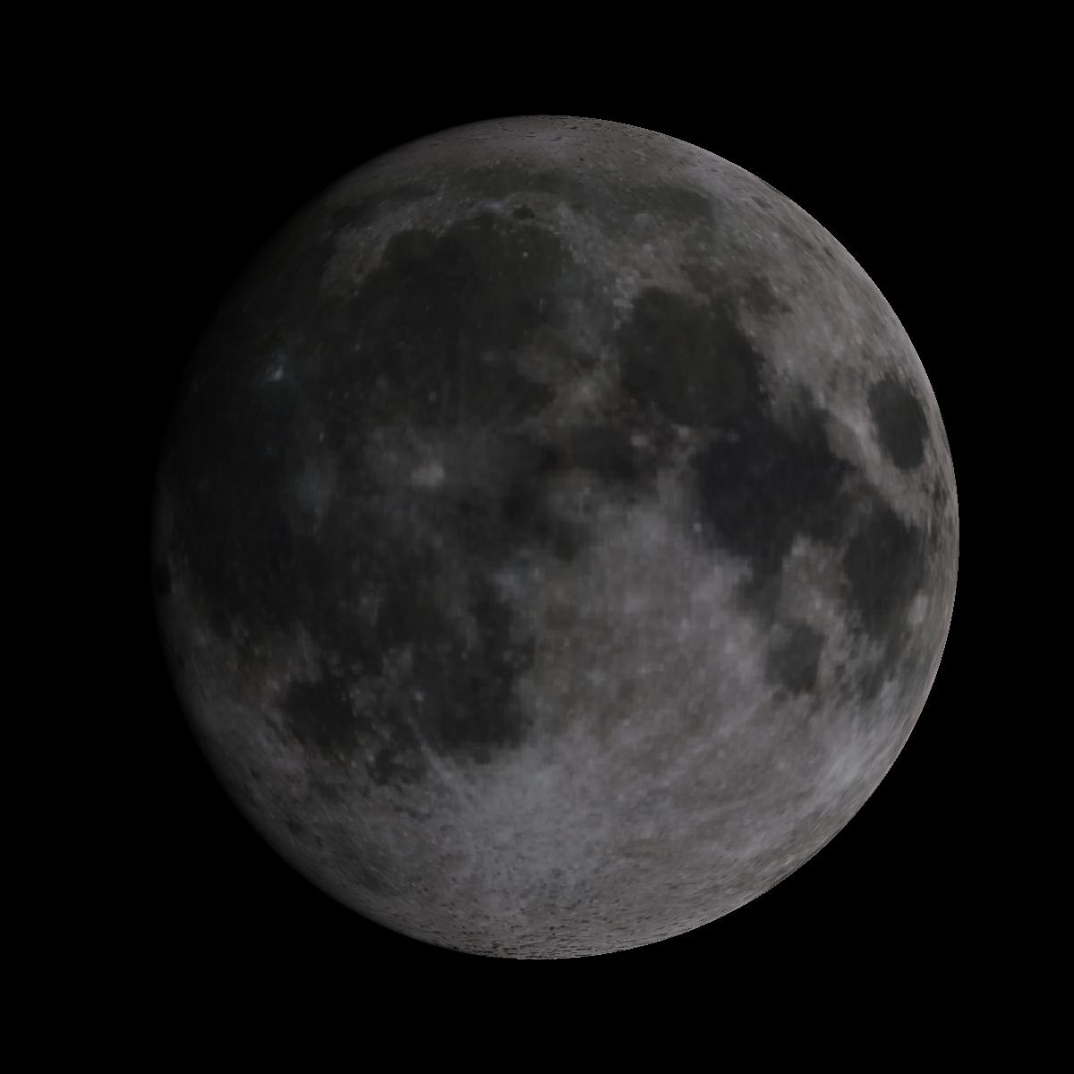 Lune du 9 janvier 2020
