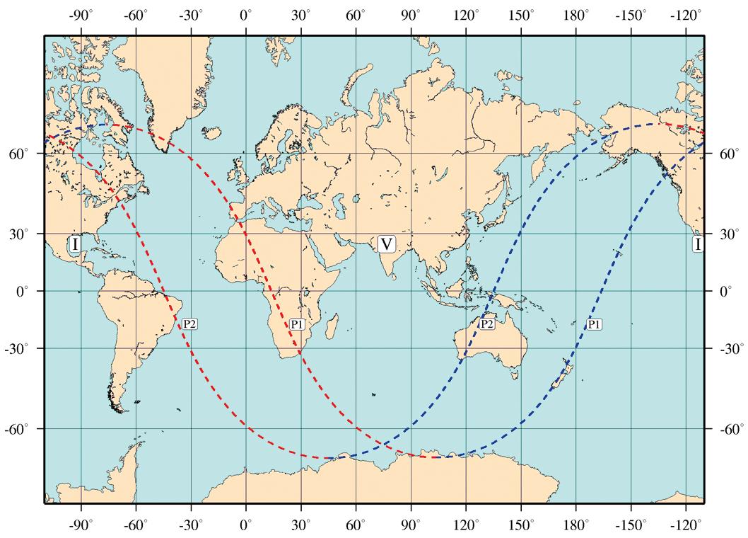 Carte de l'éclipse de Lune par la pénombre du 10 janvier 2020.