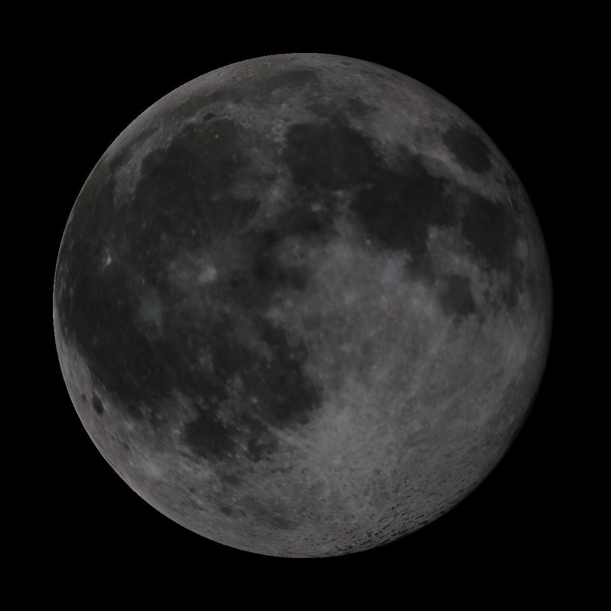 Lune du 10 février 2020