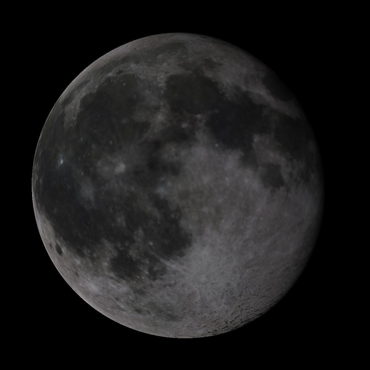 Lune du 11 février 2020