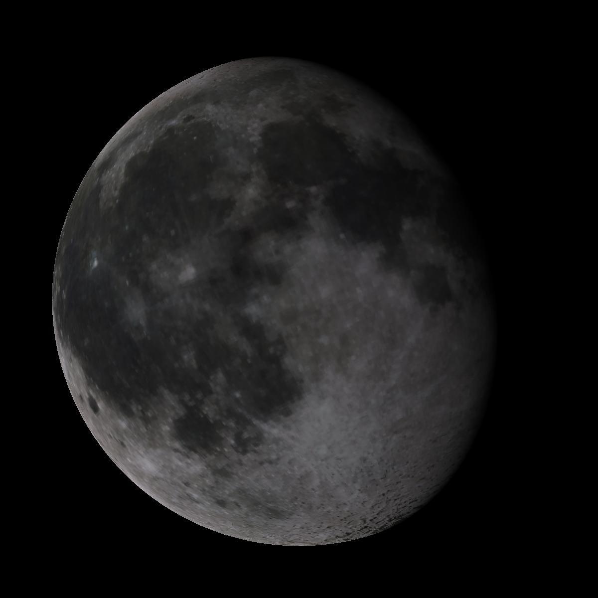 Lune du 12 février 2020