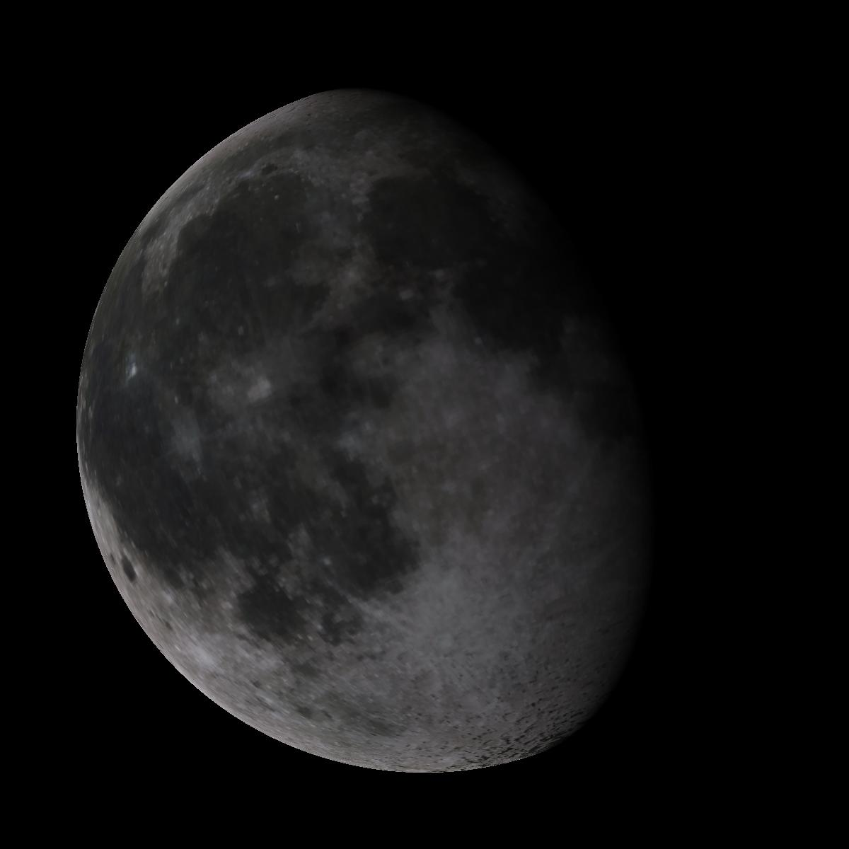 Lune du 13 février 2020