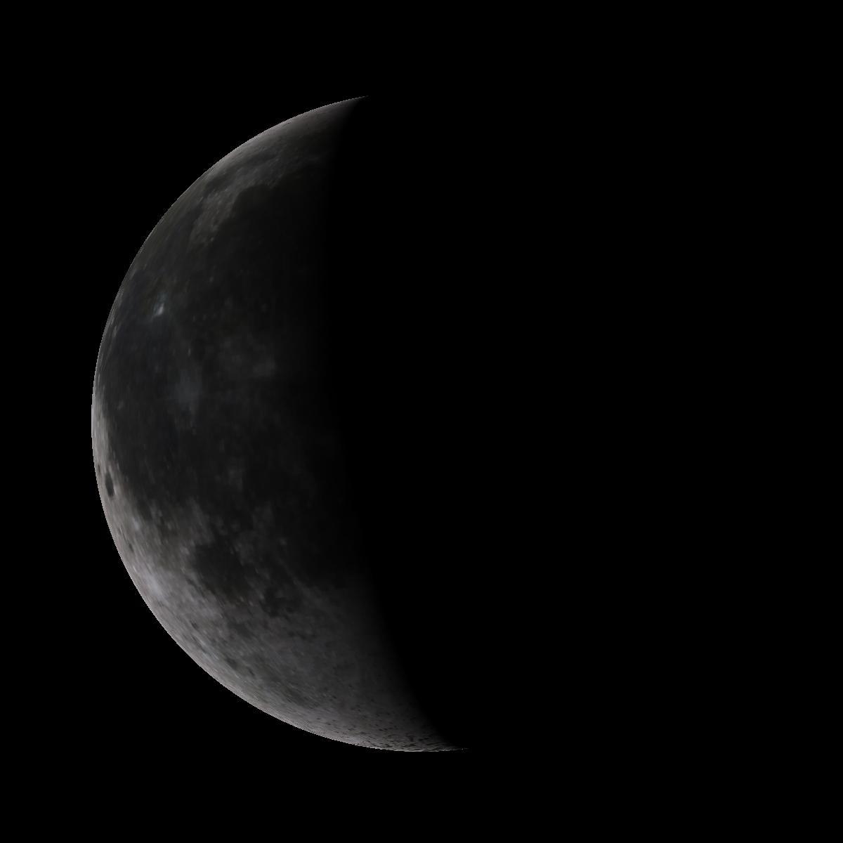Lune du 17 février 2020