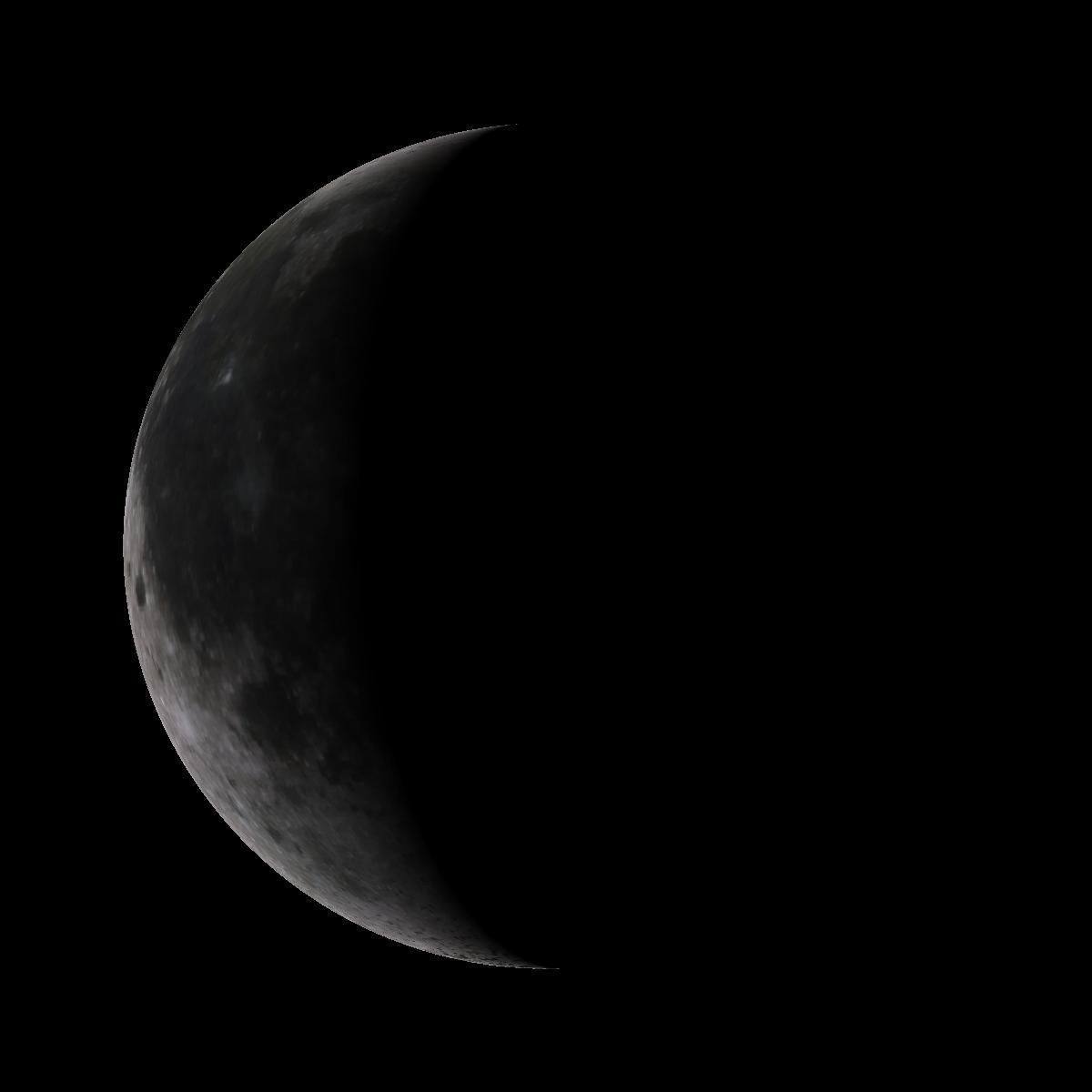 Lune du 18 février 2020