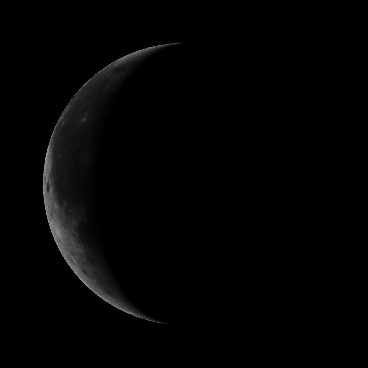 Lune du 19 février 2020
