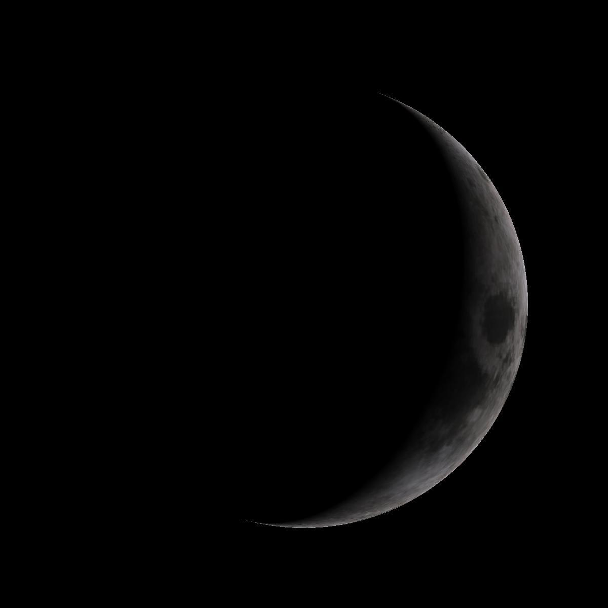 Lune du 28 février 2020