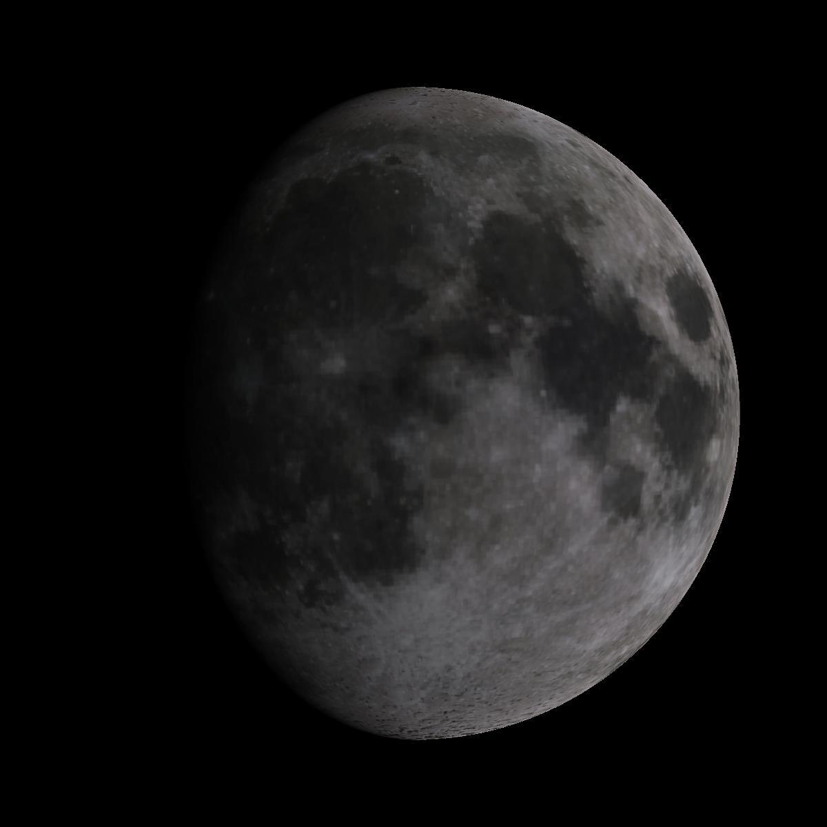 Lune du 6 février 2020