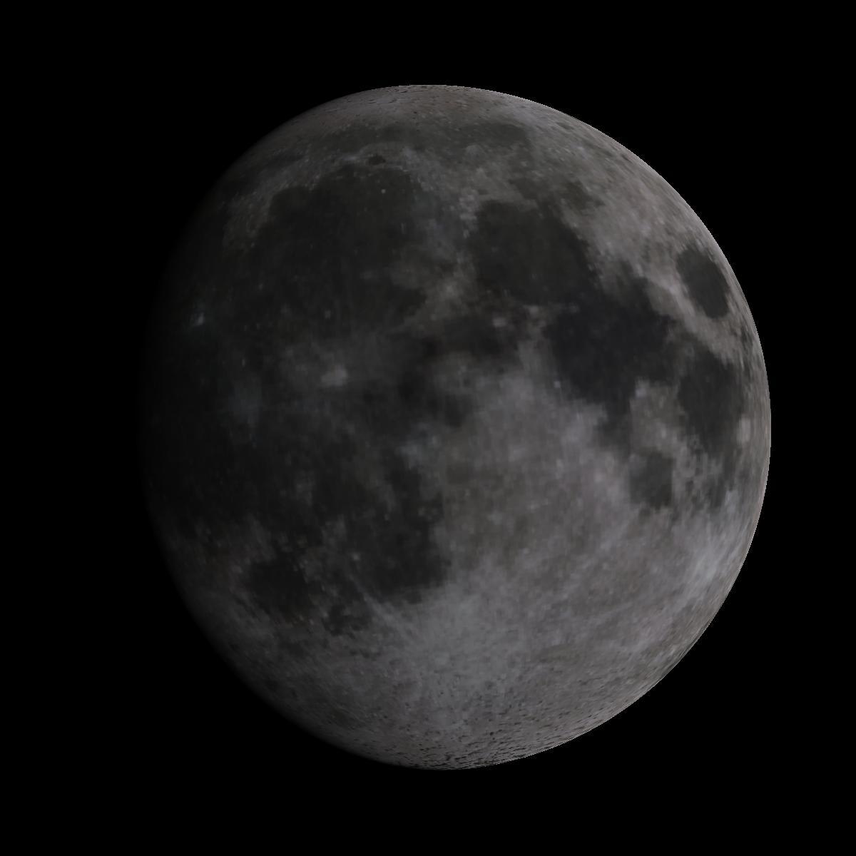 Lune du 7 février 2020