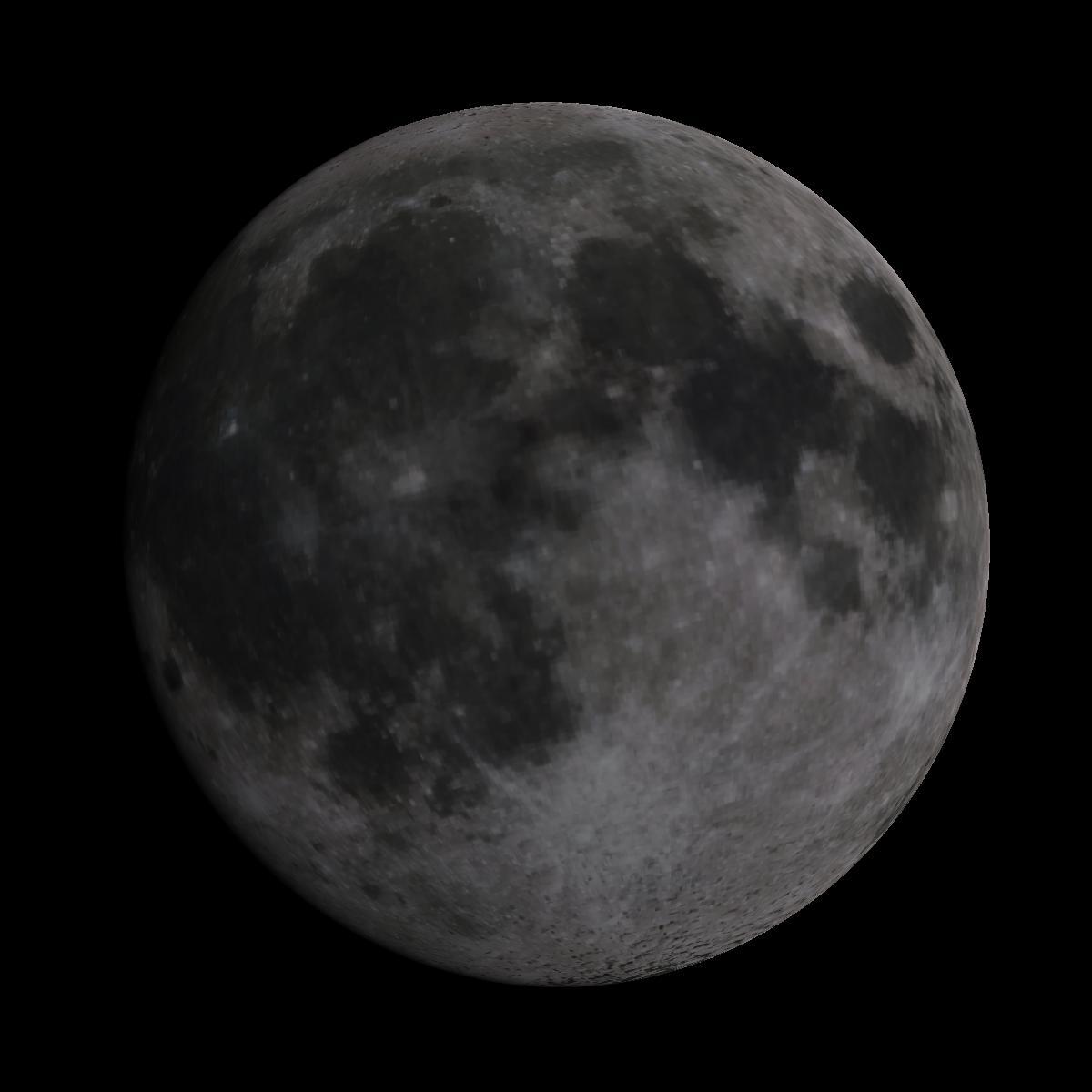 Lune du 8 février 2020