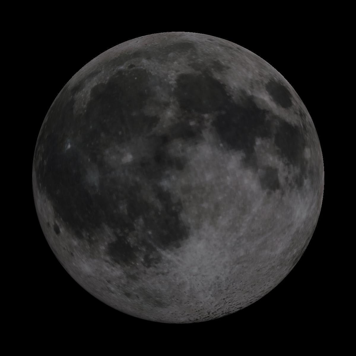 Lune du 9 février 2020