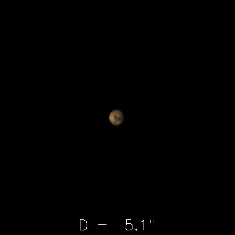 Mars le 16 février 2020