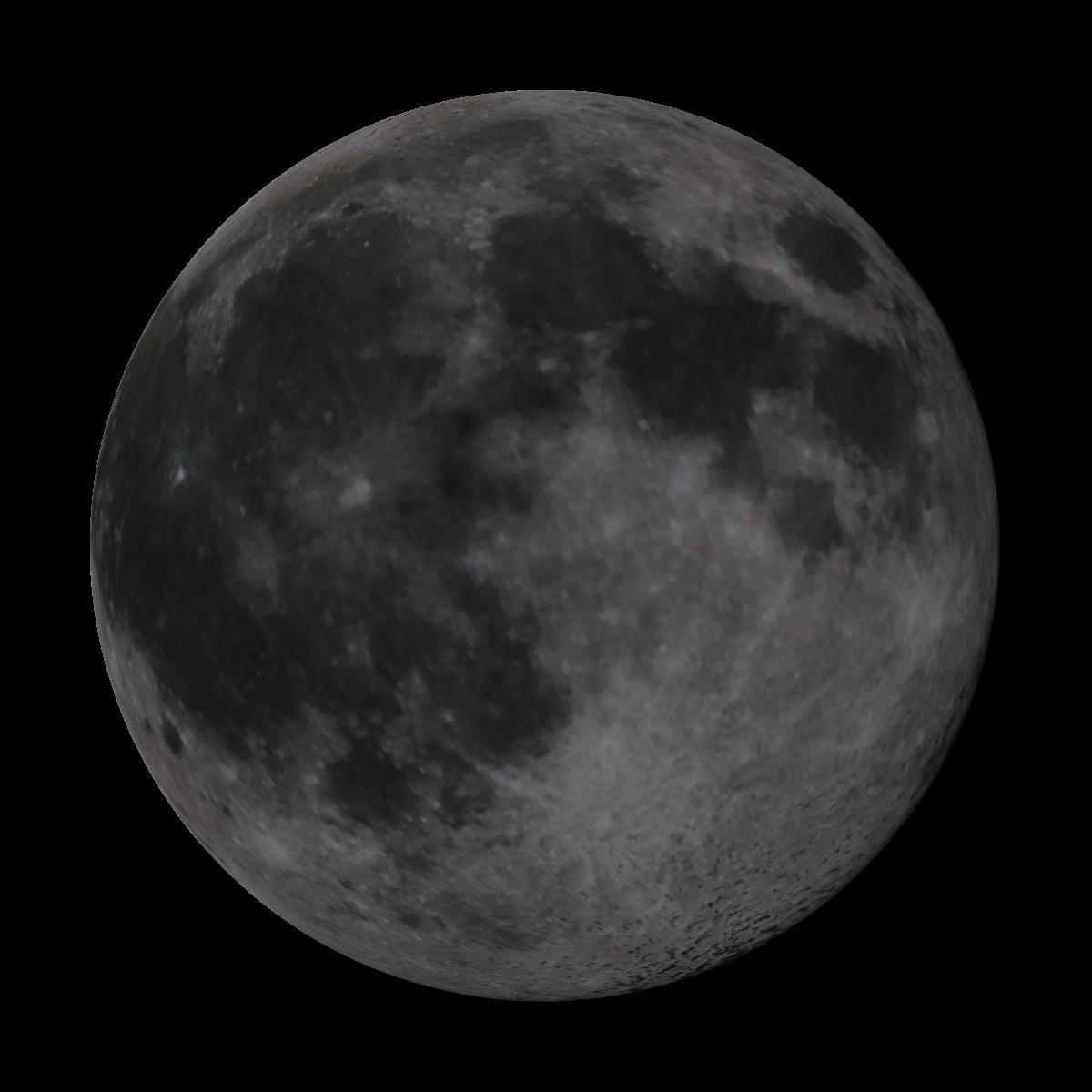 Lune du 10 mars 2020